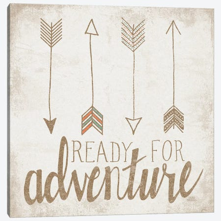 Ready For Adventure, Beige Canvas Print #WAC8173} by Laura Marshall Canvas Art Print