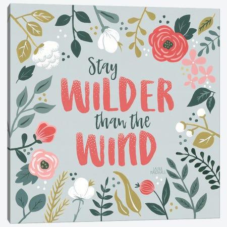 Wildflower Daydreams I Canvas Print #WAC8175} by Laura Marshall Canvas Artwork