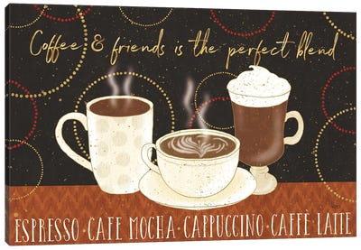 Fresh Coffee I Canvas Art Print