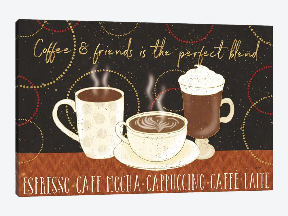 Fresh Coffee I by Lisa Audit 1-piece Canvas Art Print