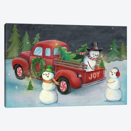 Christmas On Wheels, Light II Canvas Print #WAC8192} by Mary Urban Canvas Art Print
