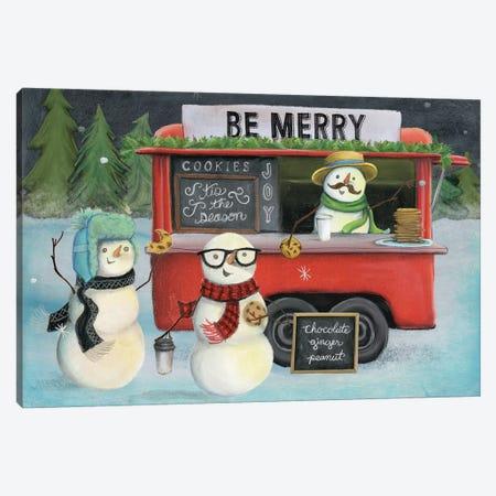 Christmas On Wheels, Light III Canvas Print #WAC8193} by Mary Urban Art Print