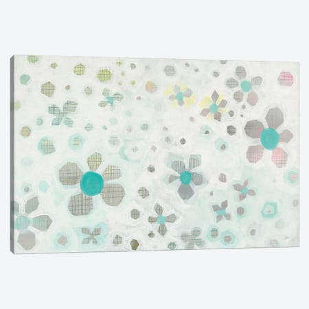 Graph Blooms Canvas Print #WAC8194} by Melissa Averinos Canvas Art