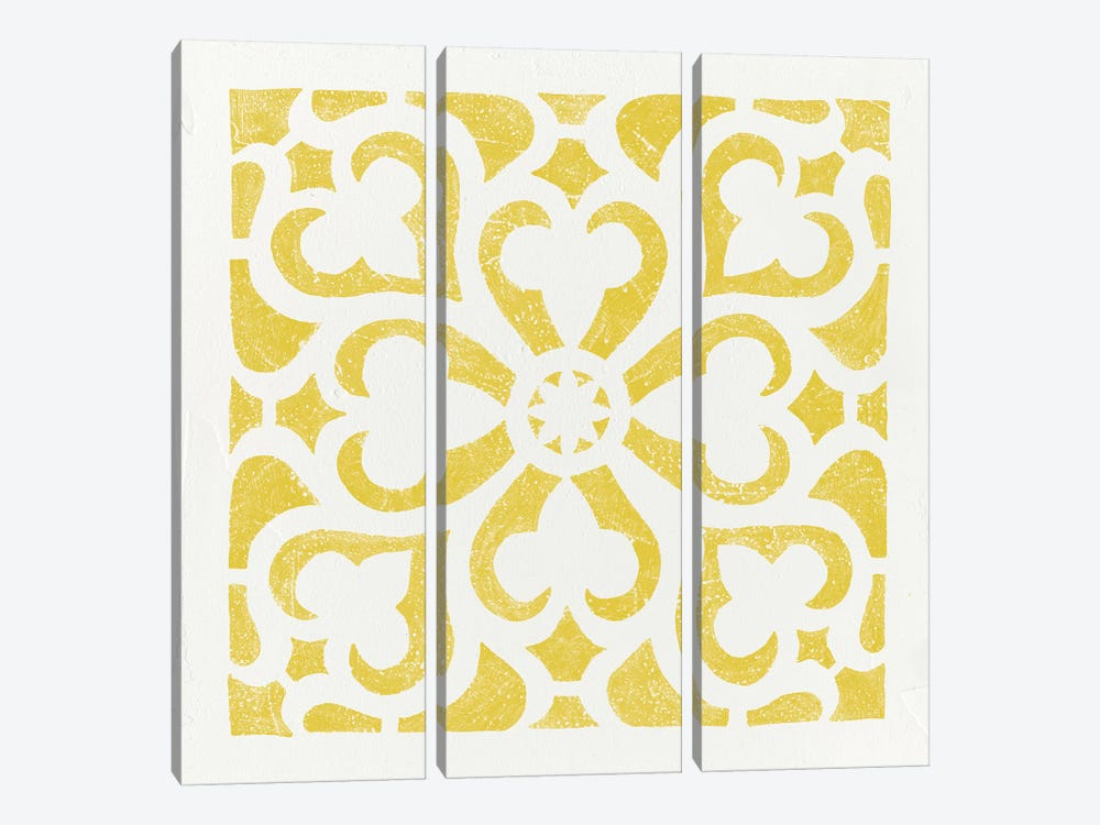Hacienda Tile III 3-piece Canvas Wall Art