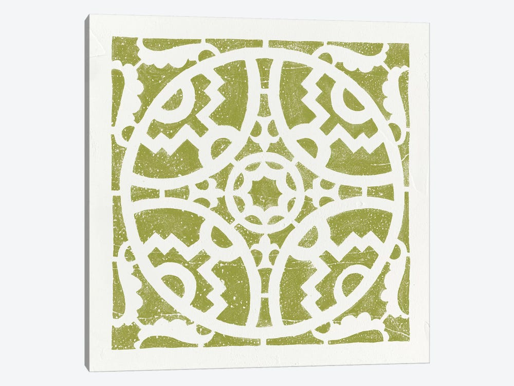 Hacienda Tile IV by Moira Hershey 1-piece Art Print