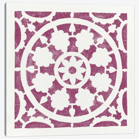 Hacienda Tile VI Canvas Print #WAC8203} by Moira Hershey Art Print