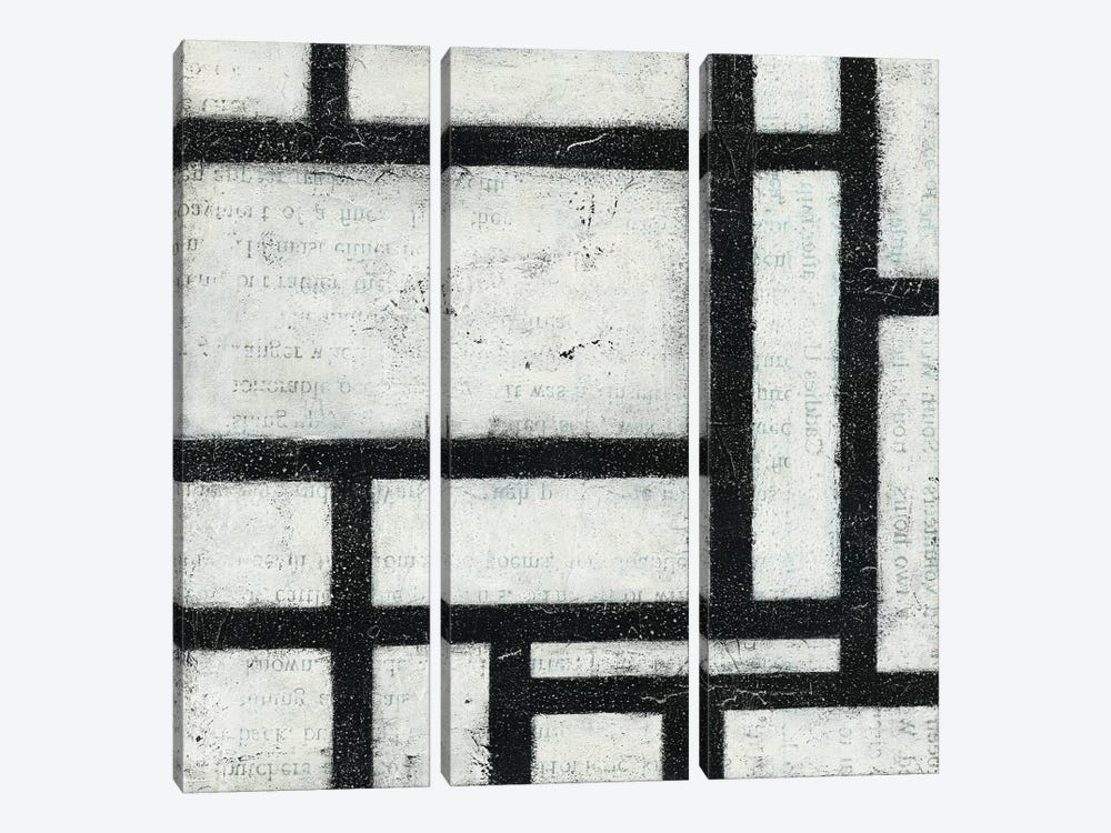 Labyrinth II by Moira Hershey 3-piece Canvas Artwork