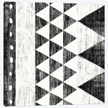 Patterns Of The Savanna, B&W I Canvas Print #WAC8206} by Moira Hershey Canvas Wall Art