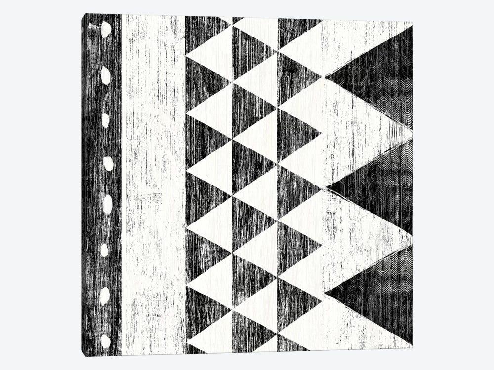 Patterns Of The Savanna, B&W I by Moira Hershey 1-piece Canvas Wall Art