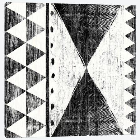Patterns Of The Savanna, B&W II Canvas Print #WAC8207} by Moira Hershey Canvas Wall Art