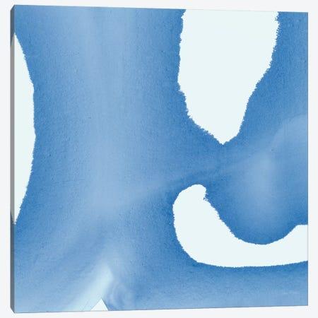 Batik Blue II Canvas Print #WAC8222} by Piper Rhue Art Print
