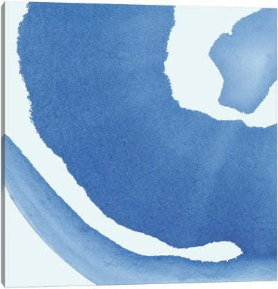 Batik Blue III Canvas Art Print