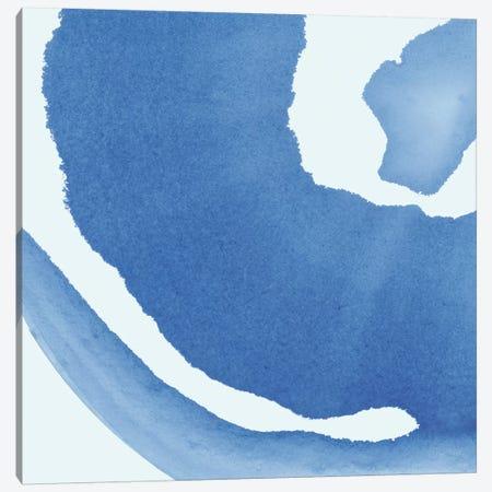 Batik Blue III Canvas Print #WAC8223} by Piper Rhue Canvas Art Print