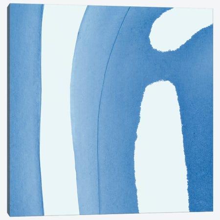Batik Blue IV Canvas Print #WAC8224} by Piper Rhue Canvas Art