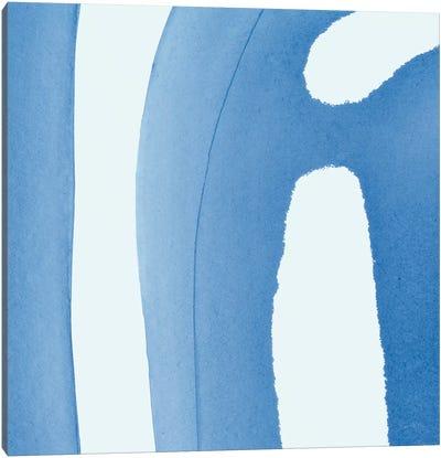 Batik Blue IV Canvas Art Print