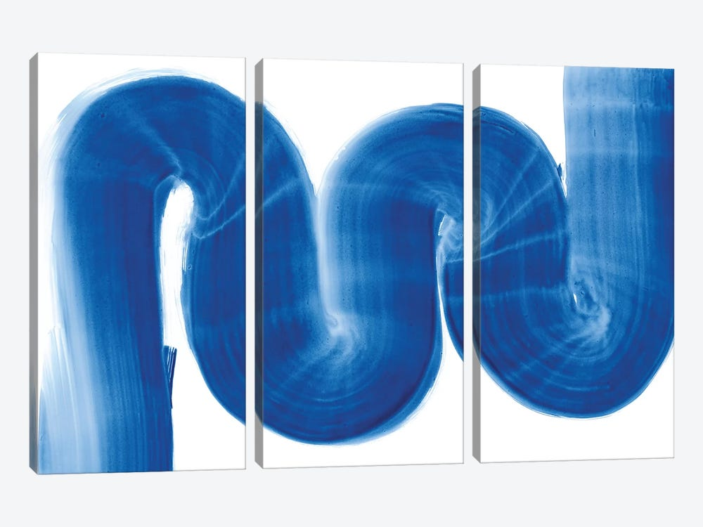 S Curve by Piper Rhue 3-piece Canvas Art