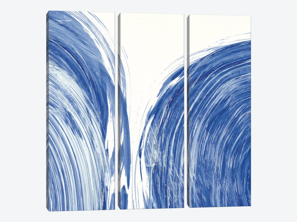 Swirl I by Piper Rhue 3-piece Canvas Print