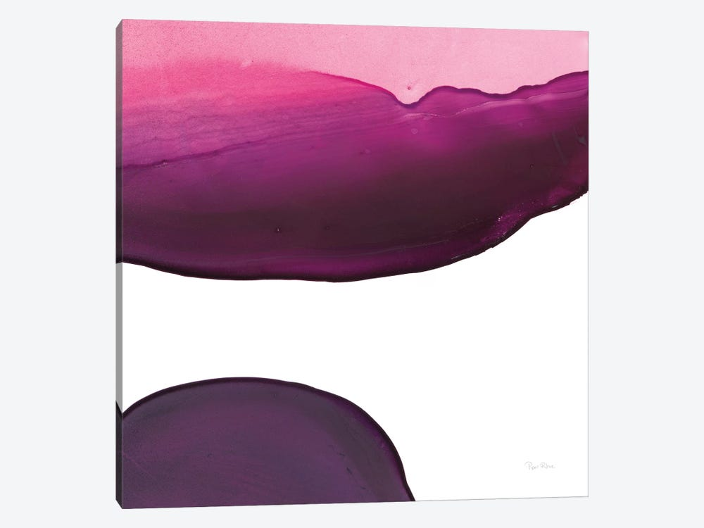 Swish Of Magenta III by Piper Rhue 1-piece Canvas Wall Art