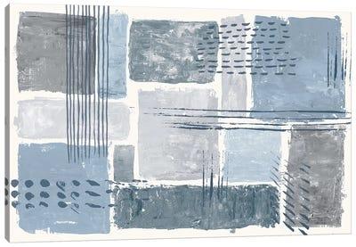 Between The Lines I Canvas Art Print