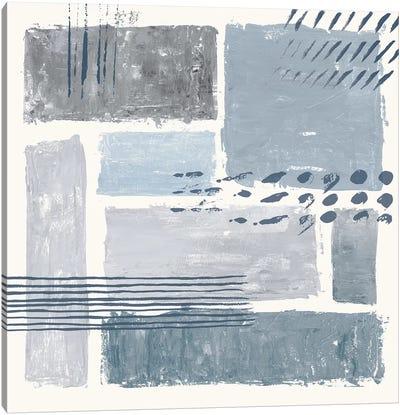 Between The Lines III Canvas Art Print
