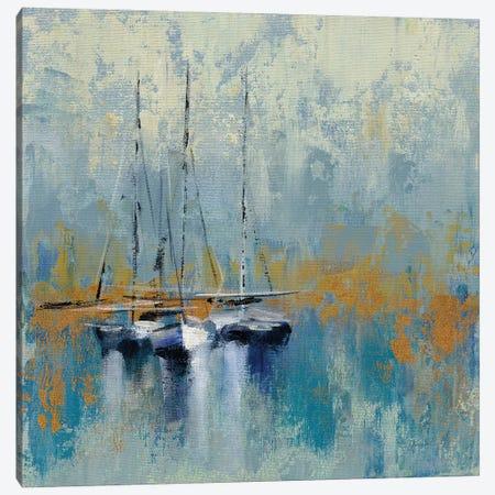 Boats In The Harbor III Canvas Print #WAC8241} by Silvia Vassileva Canvas Print