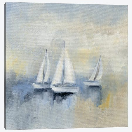 Morning Sail Canvas Print #WAC8248} by Silvia Vassileva Canvas Print