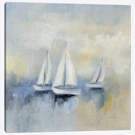Morning Sail Canvas Print #WAC8248} by Silvia Vassileva Canvas Print