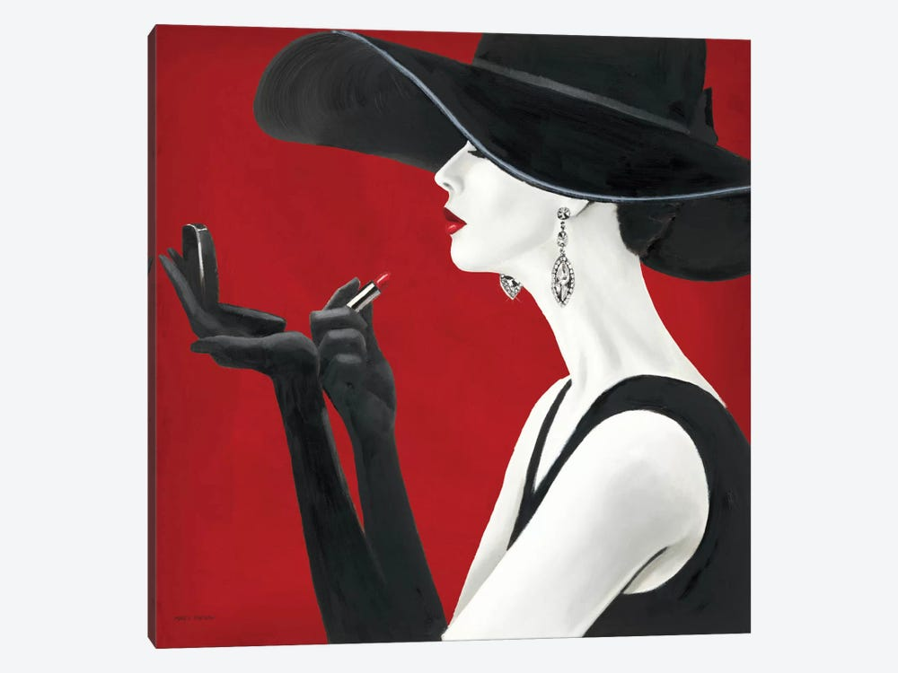 Haute Chapeau Rouge II by Marco Fabiano 1-piece Canvas Print