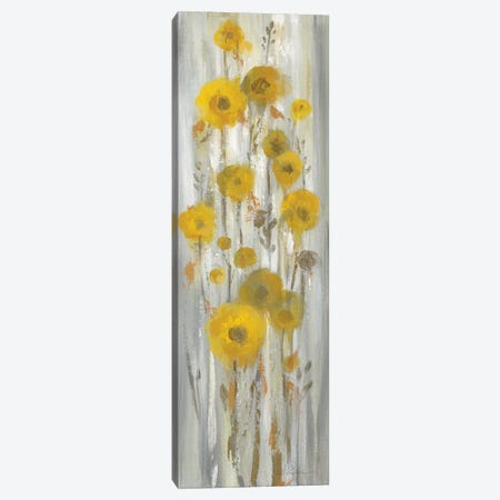 Roadside Flowers I Canvas Print #WAC8251} by Silvia Vassileva Canvas Art