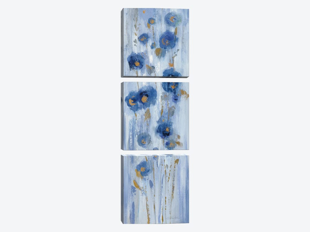 Seaside Flowers II by Silvia Vassileva 3-piece Canvas Art