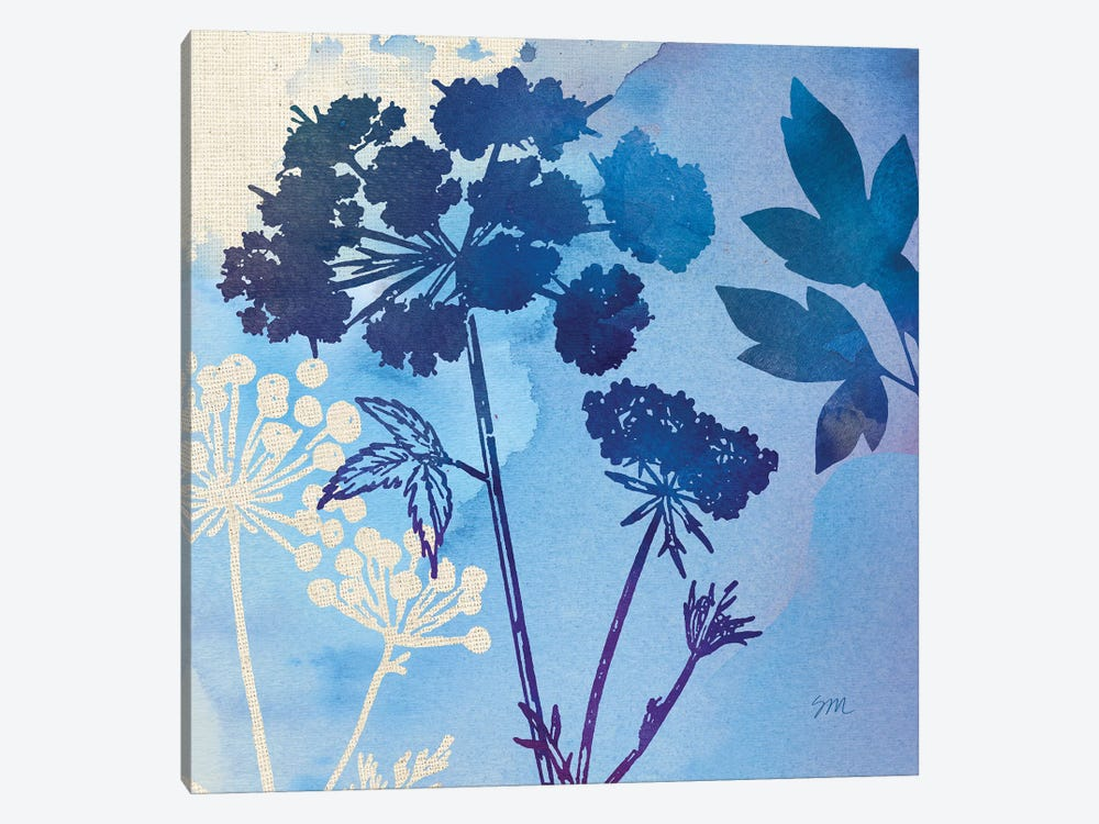 Blue Sky Garden Pattern III by Studio Mousseau 1-piece Art Print