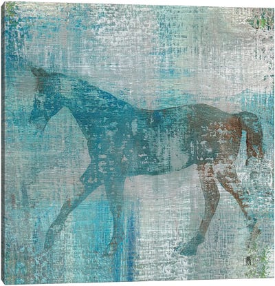 Cheval I Canvas Art Print