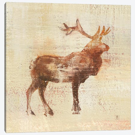 Elk Study Canvas Print #WAC8265} by Studio Mousseau Canvas Artwork