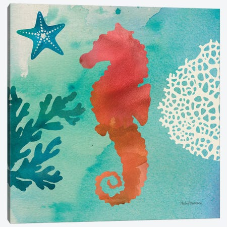 Under The Sea I Canvas Print #WAC8267} by Studio Mousseau Canvas Art