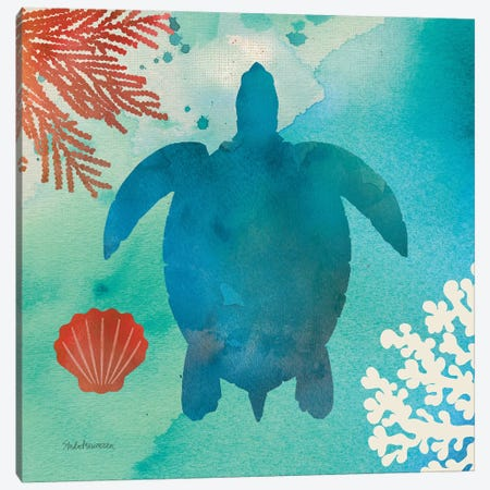 Under The Sea II Canvas Print #WAC8268} by Studio Mousseau Art Print