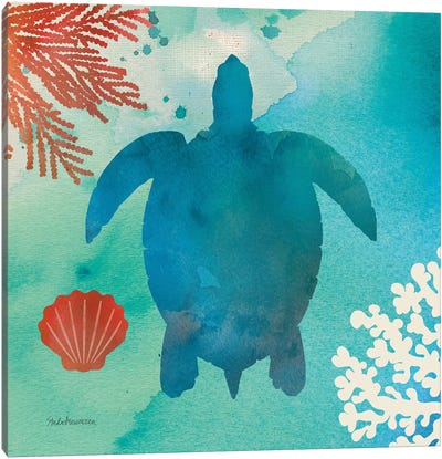 Under The Sea II Canvas Art Print