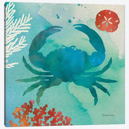 Under The Sea III Canvas Print #WAC8269} by Studio Mousseau Art Print