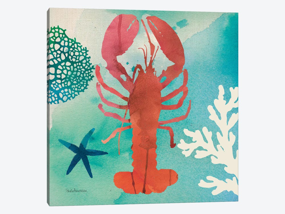 Under The Sea IV by Studio Mousseau 1-piece Canvas Print