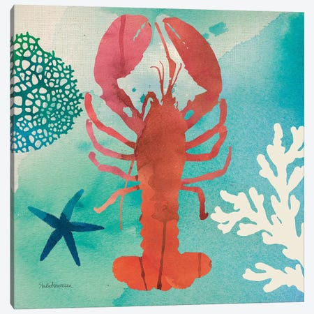 Under The Sea IV Canvas Print #WAC8270} by Studio Mousseau Canvas Art