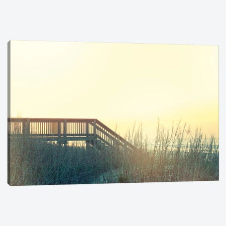 Boardwalk To The Beach Canvas Print #WAC8273} by Sue Schlabach Canvas Artwork