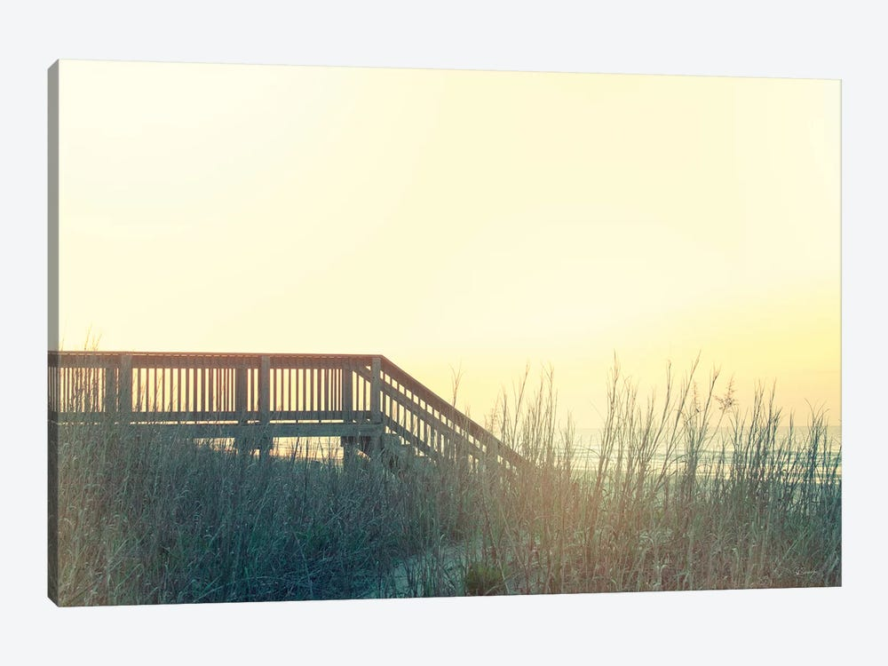 Boardwalk To The Beach by Sue Schlabach 1-piece Canvas Wall Art