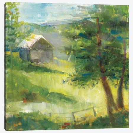 Gray Barn Canvas Print #WAC8280} by Sue Schlabach Canvas Art Print