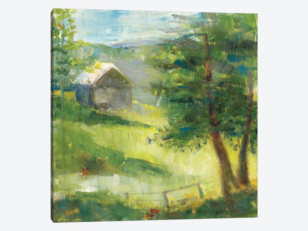 Gray Barn by Sue Schlabach 1-piece Canvas Artwork