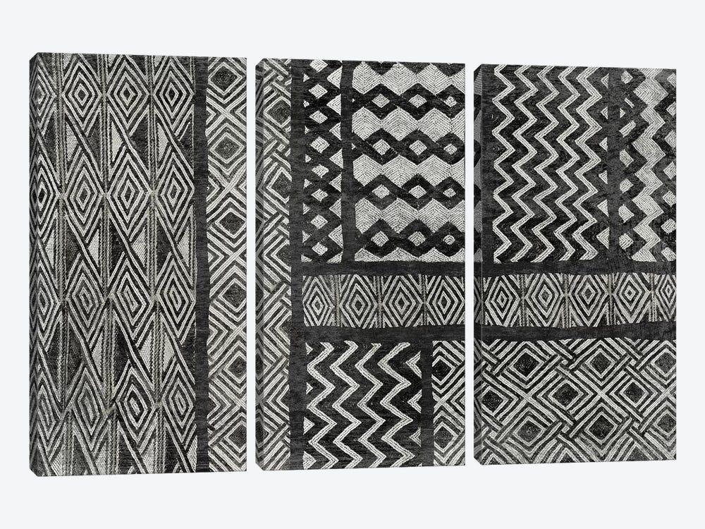 Kuba Abstract, B&W I by Sue Schlabach 3-piece Art Print