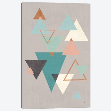 Abstract Geo II Gray Canvas Print #WAC8296} by Veronique Charron Canvas Print