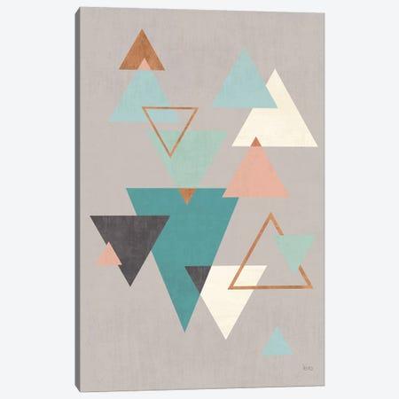 Abstract Geo II Gray Canvas Print #WAC8296} by Veronique Charron Canvas Print
