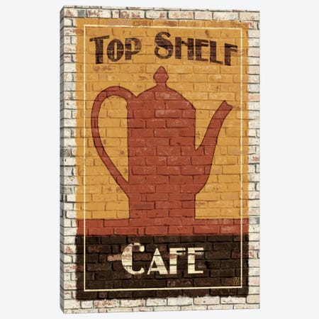 Top Shelf Café Canvas Print #WAC82} by Avery Tillmon Canvas Art Print