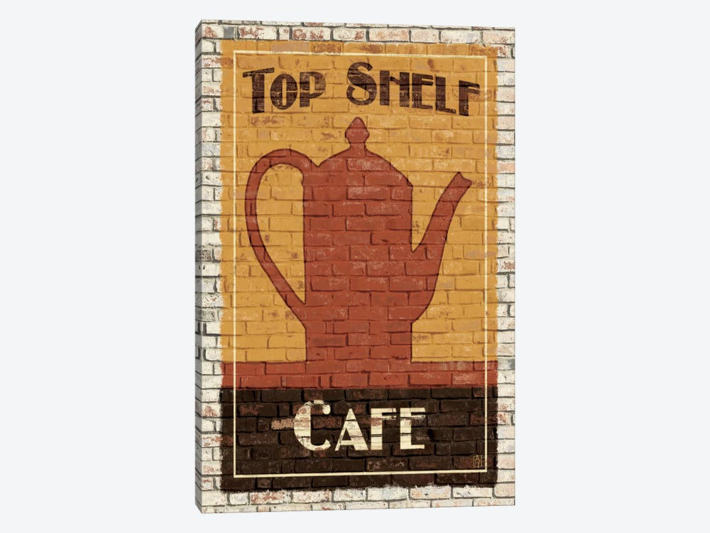 Top Shelf Café by Avery Tillmon 1-piece Canvas Artwork