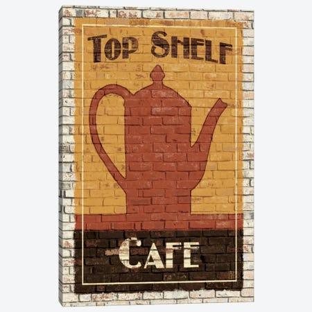 Top Shelf Café Canvas Print #WAC82} by Avery Tillmon Canvas Art Print