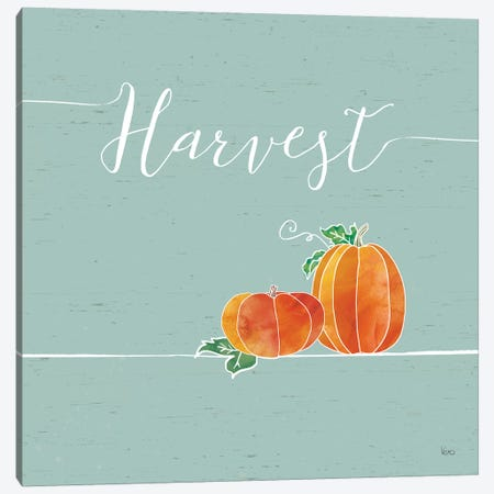 Underlined Fall V, Color Canvas Print #WAC8319} by Veronique Charron Canvas Art Print